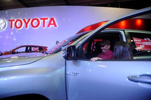 El Grupo Financiero CAFSA, ofrece una oferta en la cual el consumidor puede comprar un vehículo Toyota Agya, Toyota CH-R o un Toyota Avanza con una prima especial de $1.000. Fotografía: Gesline Anrango.