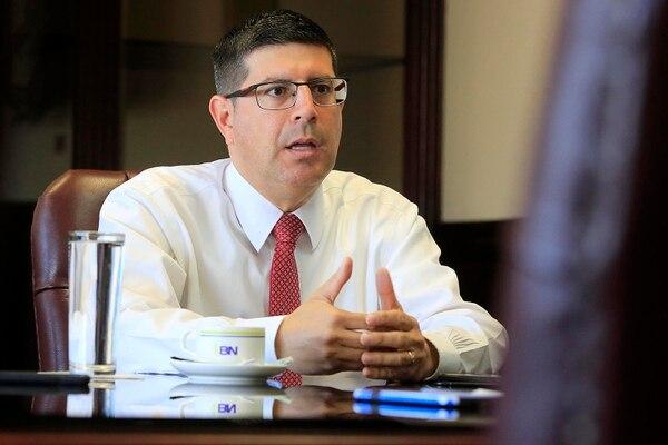 Gustavo Vargas ocupaba la gerencia del Banco Nacional desde diciembre del 2018. Foto: Rafael Pacheco.