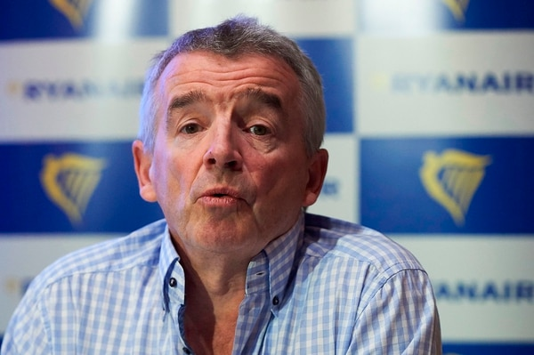 Michael O'Leary es el CEO de Ryanair.