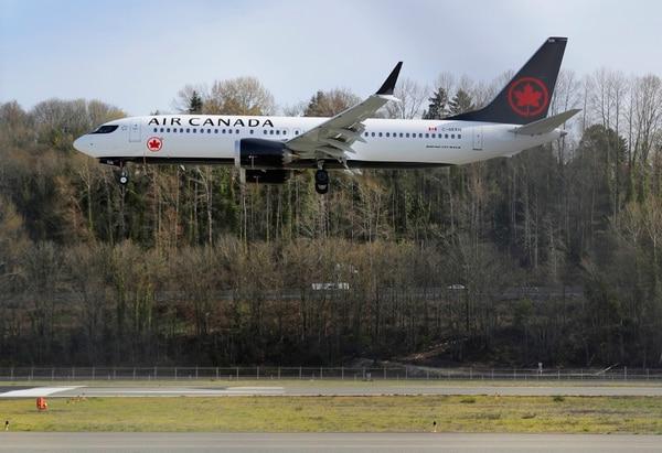 Air Canada fue de las aerolíneas que mantuvo sus Boeing 737 en funcionamiento. (AP Photo/Ted S. Warren)