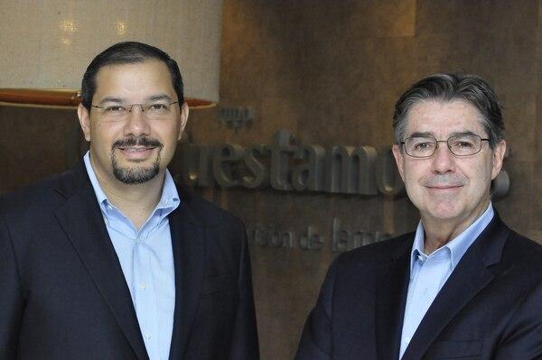 La relación de Manuel Zúñiga con Rodrigo Uribe fue extensa: en Cuestamoras se mantuvo del 2011 al 2018; anteriormente ya había trabajado con él de 1998 al 2004. En el año 2013 ambos posaron para una publicación de EF. Frank Guevara para EF / Archivo