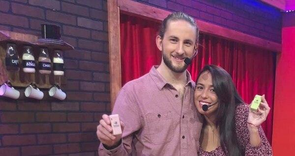 Paula Rodríguez y su novio Moritz Karl Gutbrod fundaron Baula. (Foto cortesía de Baula)
