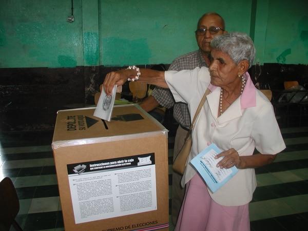 En total las elecciones del próximo año contarán con 6.515 juntas receptoras de votos.