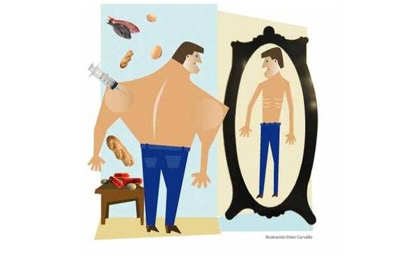 esteroides, vigorexia, sobreentrenamiento