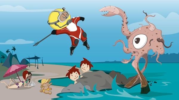 Las series animadas de televisión –como esta de Tierra de Visitantes– son una beta de negocio para las firmas ticas.