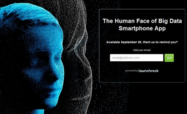 Lanzamiento global del proyecto The Human Face of Big Data