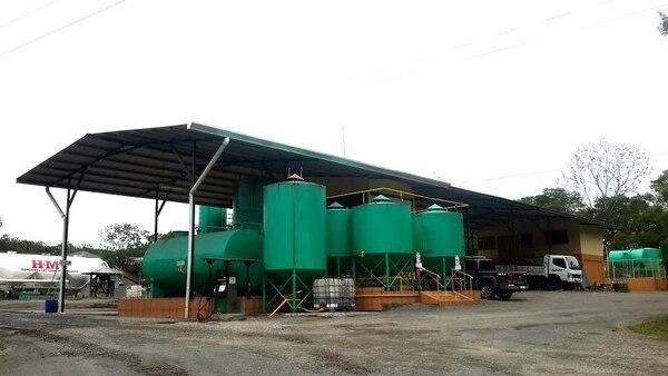 La empresa ya cuenta con una planta de producción de biodiesel.
