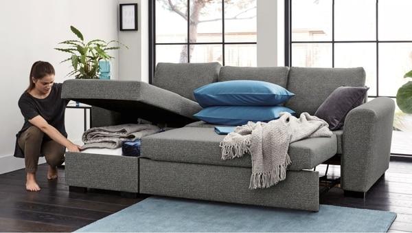Este sofá cama es parte de los productos que ofrecen. (Foto: INNOmuebles para EF).