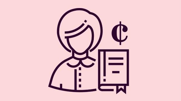 ¿Cómo impacta el IVA a Alejandra, la trabajadora independiente que quiere aplicar los créditos fiscales? Ilustración: Shutterstock