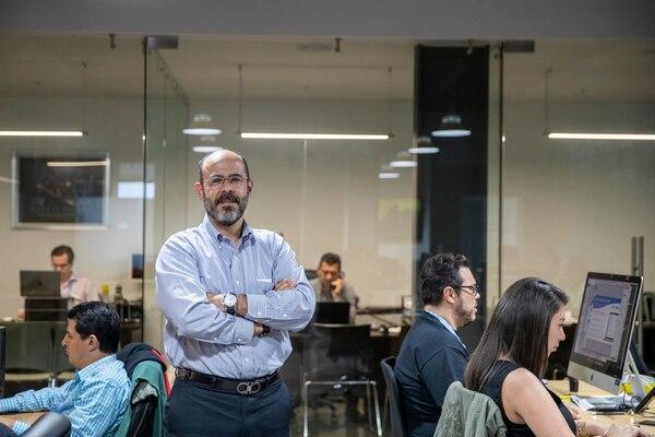 Mario Hernández, CEO de Impesa, indicó que el servicio empezó a probarse a principios de abril y que es muy sencillo de utilizar. (Foto Alejandro Gamboa / Archivo GN)