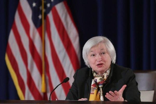 Janet Yellen, presidenta de la Reserva Federal de Estados Unidos