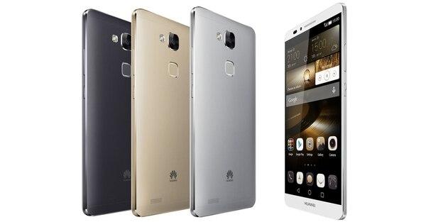 Huawei anunció que su smartphone Mate 7 está a la venta en Movistar.