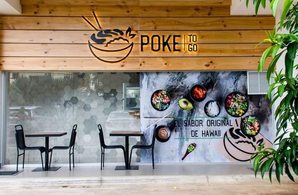 Poke-To-Go está ubicado al costado oeste de la UCR, frente a la facultad de Investigación. (Foto cortesía Poke)