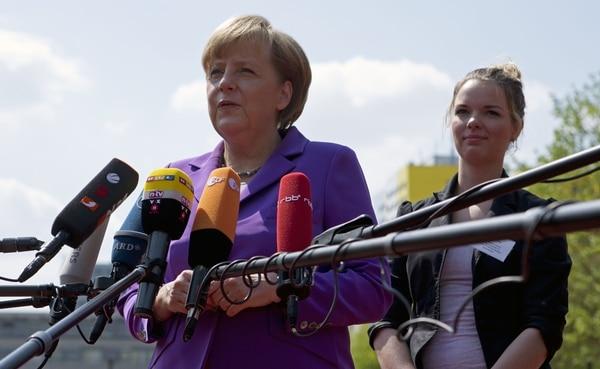 Angela Merkel abogó por un