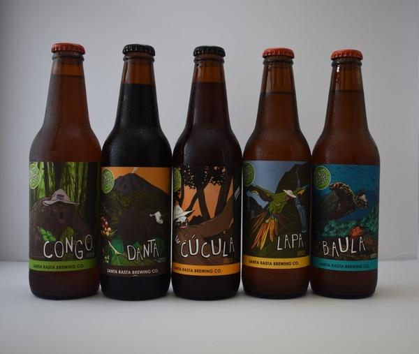 Actualmente, la empresa tiene cinco tipos de cerveza a la venta. (Foto: Santa Rasta Brewing Co. para EF).