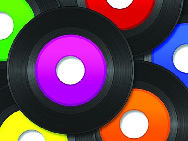 Los discos de vinilo o acetatos revivieron con los tornamesas digitales.