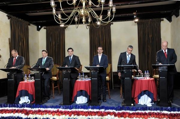 Los candidatos culminarán el fin de semana con su participación en el debate presidencial que organizará Canal 7, este domingo, a partir de las 7 p. m.