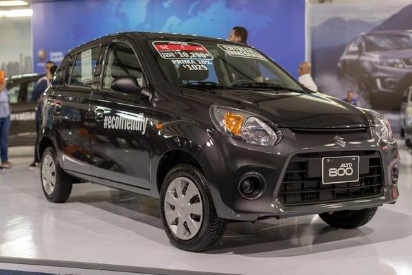 El Suzuki Alto es uno de los automóviles más bajos de precio que están en la Expomóvil 2019. (Foto: José Cordero).
