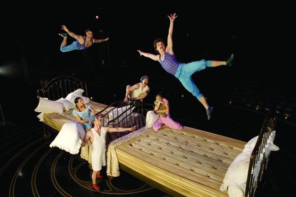 Espectáculo Corteo Cirque du Soleil