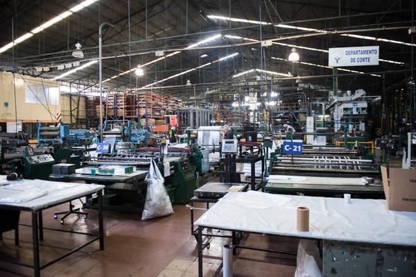 La Fábrica de Yanber fue una de las propiedades adjudicadas como garantía de los préstamos de la banca estatal. Fotografía: Alejandro Gamboa Madrigal/Archivo