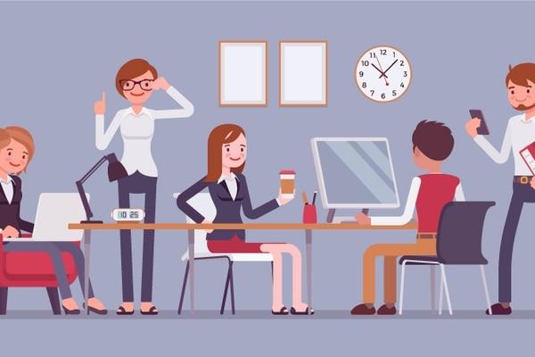 Cuando redacte las políticas para el personal, enfóquese en transmitir las expectativas positivas de la empresa acerca de los empleados.