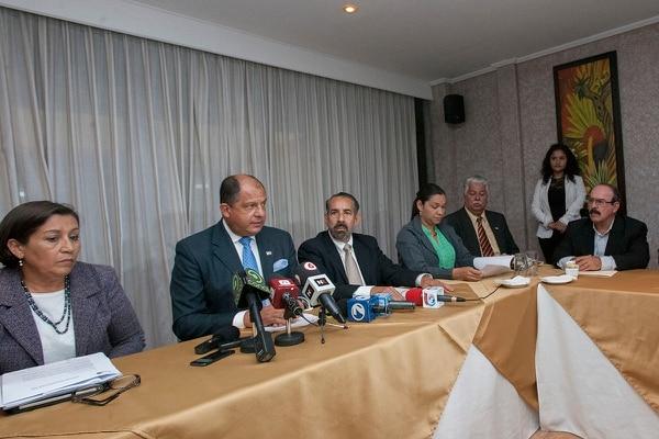 La bancada electa del PLN lanzó cerca de 20 propuestas para que Luis Guillermo Solís valore incluirlas en su agenda de gobierno.