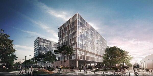 El complejo de edificios gubernamentales contará con espacios públicos como dos calles peatonales, un anfiteatro y una ciclovía. (Imagen: cortesía Mideplan)