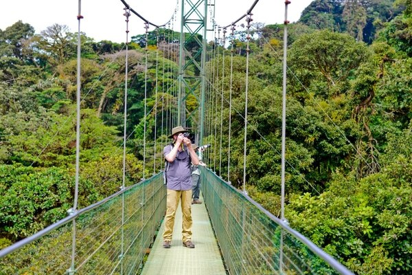 Monteverde, destino turístico tradicional en Costa Rica que ha contribuido con el bienestar de sus vecinos. Fotografía: Cortesía ICT.