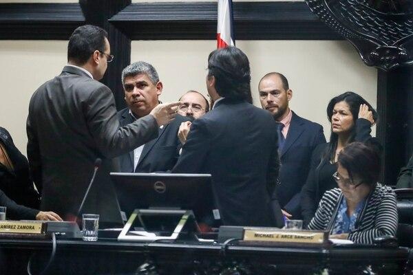 En administraciones anteriores se han mantenido cifras altas en cuanto a aprobación de leyes, si se comparan las tres primeras legislaturas desde el 2006. Fotografía José Cordero