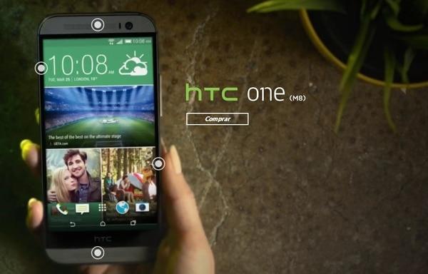 vea más detalles del celular en: htc.com/es/smartphones/htc-one-m8/