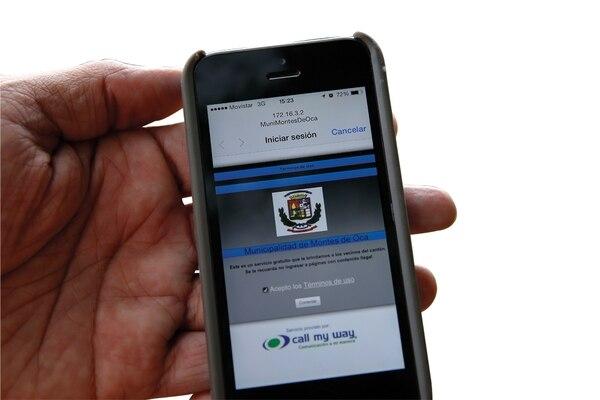 La municipalidad de Montes de Oca ofrece Internet gratis