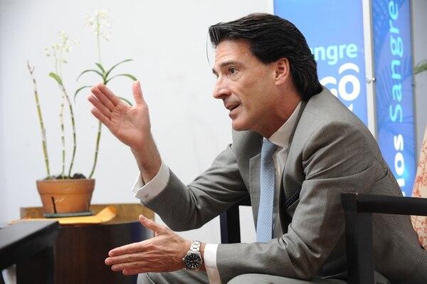 """""""Al ingresar a móvil, ahora podremos potencializar la operación. El Tigo Costa Rica de ayer no es el mismo Tigo Costa Rica del mañana"""", afirmó Mauricio Ramos, CEO de Millicom. (Foto Jorge Castillo)"""