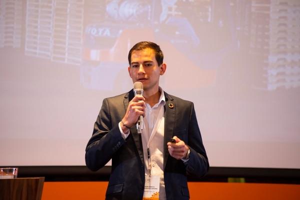 De 5.000 proyectos que aplicaron, 75 fueron seleccionados para que expusieran la iniciativa en la Expo Live, entre ellos Bambu Pallet. (Foto cortesía Bambu Pallet)