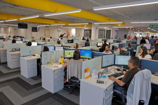 DHL Express, proveedor mundial en envíos exprés, inauguró sus nuevas instalaciones ampliadas en el Centro Corporativo Zona Franca El Cafetal 2, ubicado en La Ribera de Belén.Fotos: Mayela López
