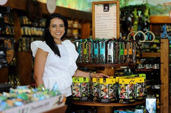 Adriana Echandi, es la CEO de Morpho Travel Retail. Foto: Melissa Fernández