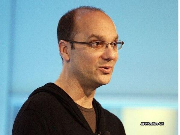 Andy Rubin se incorporó a Google en 2005, cuando el gigante de internet compró Android Inc.