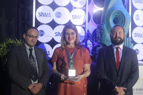 La marca de helados Yolobon, de la empresaria y periodista Susana Quintero, obtuvo el galardón Siwä en la categoría de pequeña empresa.