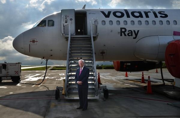 Naranjo asumió la gerencia general de Volaris Costa Rica en 2015 e inició un proceso para contratar personal y crear la estructura de la empresa antes del inicio de operaciones en diciembre del 2016. Fotografía: Albert Marín.