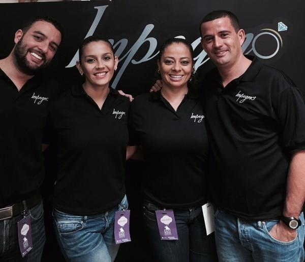 Rodrigo Salas, Maricela Jiménez, Brenda Salas y Esteban Vindas forman parte de Impegno. (Impegno para EF).