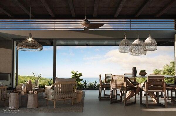 Costa Elena empezará la construcción de ocho de las 20 villas vacacionales que comprende el proyecto, a mediados del 2019. (Costa Elena para EF).