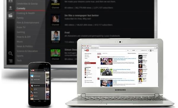 En la nueva interfaz, los videos están ubicados en la parte superior de la página y son más grandes