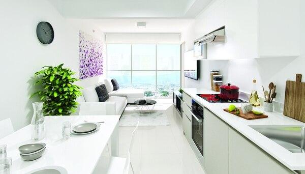 Xcala ofrece apartamentos de una, dos y tres habitaciones.