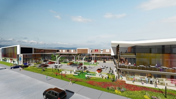 El proyecto se inaugurará en octubre de este año. (Imagen: Santa Ana Town Center para EF).