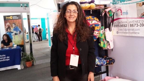 Cinthya Jiménez Díaz participó este fin de semana en la Expo Pyme 2015.