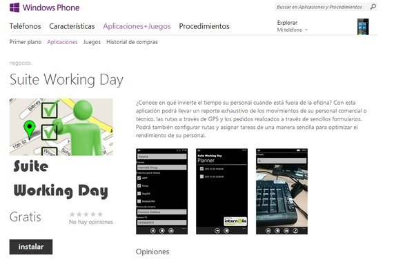 Suite Working Day permite consultar la información en tiempo real y recibir actualizaciones por medio de alarmas