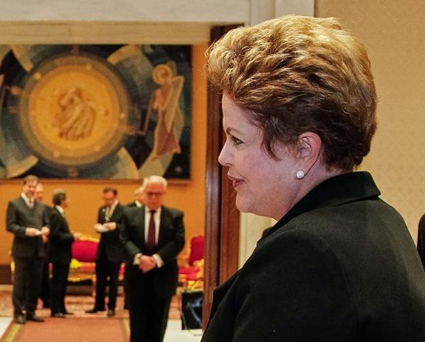 La presidenta de Brasil, Dilma Rousseff, en el 2011