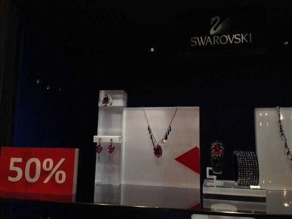 Estas piezas de joyería de la marca Swarovski se ofreen desde hoy con 50% de descuento, por el Black Friday.