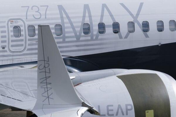 El 737 Max es el modelo más importante de Boeing y el que concentra la mayoría de los pedidos de la fábrica para el futuro inmediato. Foto: AFP