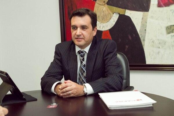 Cristian Soto, gerente de innovación y desarrollo de la financiera Cafsa.
